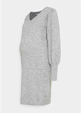 PCMPAM VNECK DRESS - вязаное платье