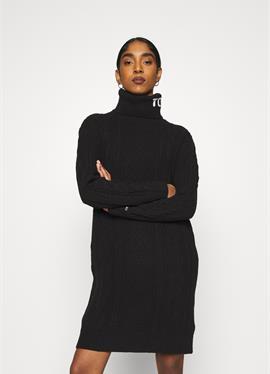 TURTLE NECK DRESS - вязаное платье