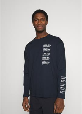 LONG SLEEVE WITH PRINT - футболка с длинным рукавом
