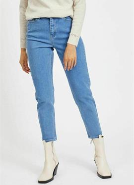 HIGH WAIST - джинсы Straight Leg
