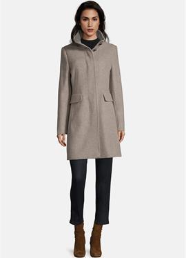 С стоячий воротник - Wollпальто/klassischer пальто