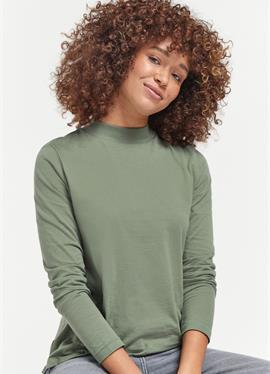 HIGH NECK - футболка с длинным рукавом