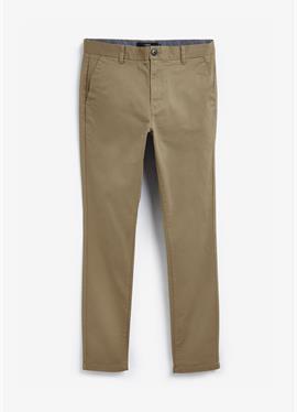 Зауженный крой - брюки-чинос