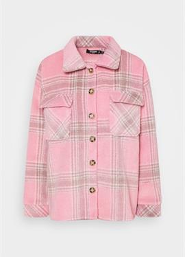 BRUSHED CHECK SHACKET - блузка рубашечного покроя