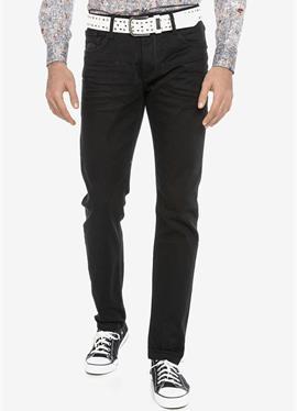 Джинсы зауженный крой с ремень - джинсы зауженный крой