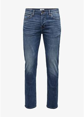 ONSLOOM LIFE BLUE - джинсы зауженный крой