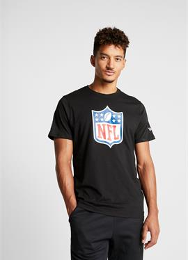 NFL SHIELD BACK TO BLACK TEE - футболка print
