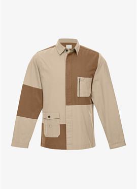 OVERSHIRT TERRAIN с TASCHOVERSHIRT TERRAIN с сумки в BIO--QUALITäTEN в BIO-BAUMWOLL-QUALITäT - рубашка