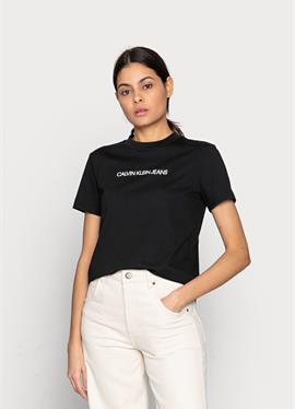 SHRUNKEN INSTITUTIONAL TEE - футболка print