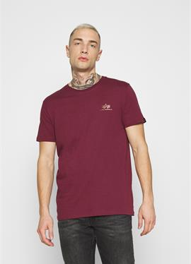 BASIC SMALL LOGO FOIL PRINT - футболка basic