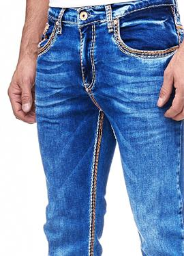 LEVIN 1 - джинсы зауженный крой