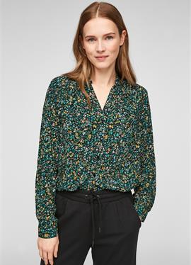 MET BLOEMENMOTIEF - блузка рубашечного покроя