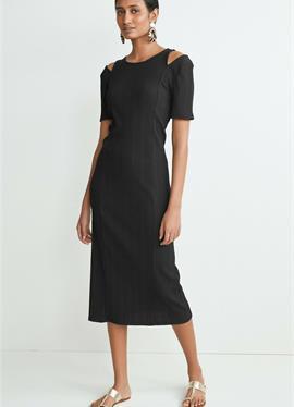 RIB CUT-OUT - платье