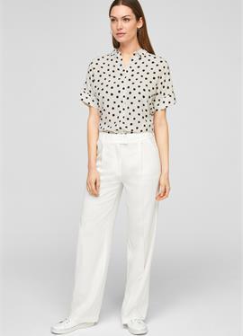 С ALLOVER-PRINT - блузка рубашечного покроя