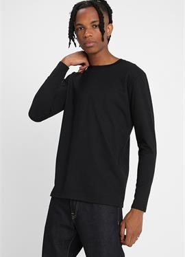 STRETCH TERRY - футболка с длинным рукавом