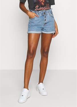 ONLCUBA LIFE PAPERBAG - джинсы шорты
