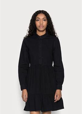 VMMARIA FRILL SHORT DRESS - джинсовое платье