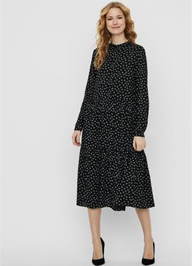MIDIKLEID стоячий воротник - платье