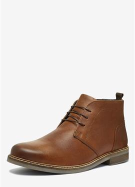WAXY FINISH - полусапожки на шнуровке