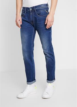 ANBASS - джинсы зауженный крой