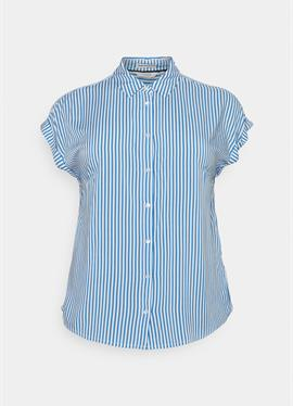 BLOUSE WITH шорты SLEEVE - блузка рубашечного покроя
