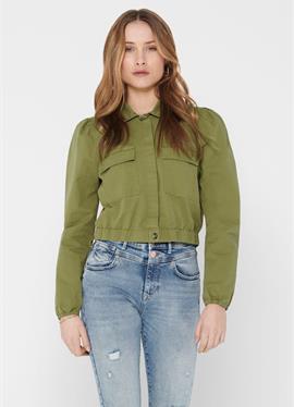 ONLY рубашка CROPPED - блузка рубашечного покроя