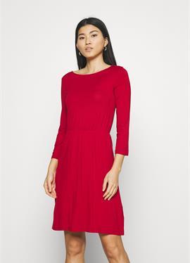 Mini waisted basic dress - платье из джерси