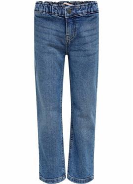 Прямой крой KONSkyler Frill Wide Ankle - джинсы Straight Leg