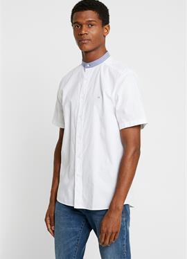 STAND COLLAR шорты SLEEVE OXFORD - рубашка