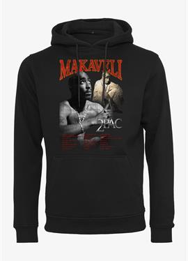 TUPAC MAKAVELI - пуловер с капюшоном