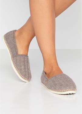 CLASSIC TRESSÉE VEGAN - туфли для дома