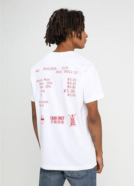 CASH ONLY TEE - футболка print