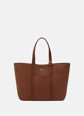 PEBBLED CLASSIC TOTE - большая сумка