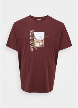 JORWHERE PHOTO TEE CREW NECK - футболка print
