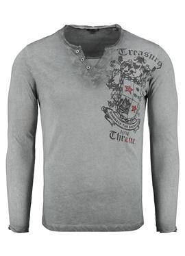 HIGHLAND BUTTON - футболка с длинным рукавом