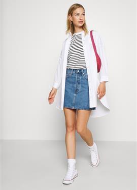 RIBCAGE SKIRT - джинсовая юбка