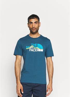 MOUNTAIN LINE TEE - футболка print