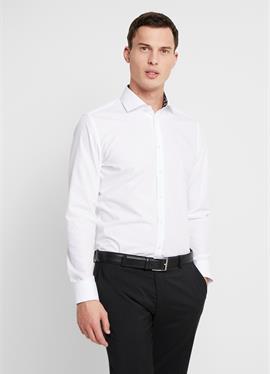 Зауженный крой SPREAD KENT PATCH - рубашка для бизнеса