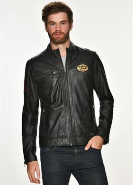 Классический стиль VARBERG - кожаная куртка