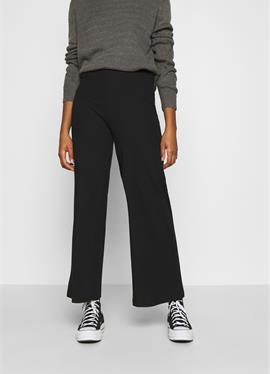 Wide Leg Ribbed брюки - брюки