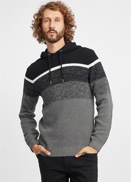 CEDRAL - пуловер с капюшоном