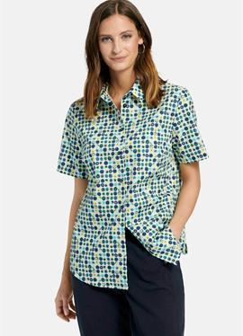 С ALLOVER-MUSTER - блузка рубашечного покроя