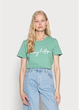 CREW NECK GRAPHIC TEE - футболка print