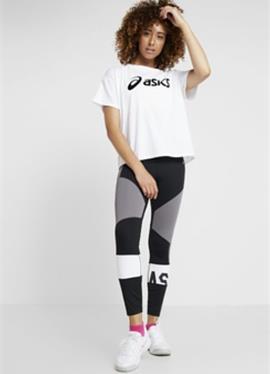 COLOR BLOCK CROPPED - спортивные штаны
