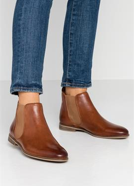LEATHER сапожки - Ankle ботинки