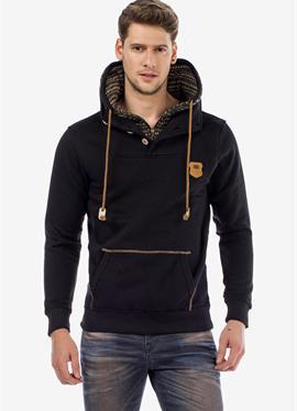 FUSION - пуловер с капюшоном