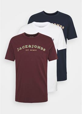 JJCROSS TEE 3 PACK - футболка print