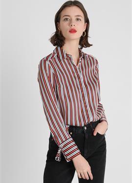 PEACHSKIN - блузка рубашечного покроя