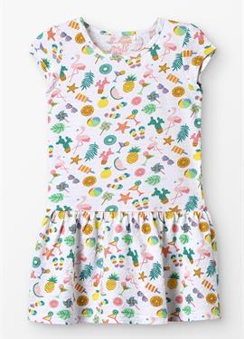 SMALL GIRLS - платье из джерси