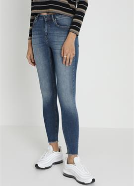 ONLBLUSH MID ANKLE RAW - джинсы Skinny Fit